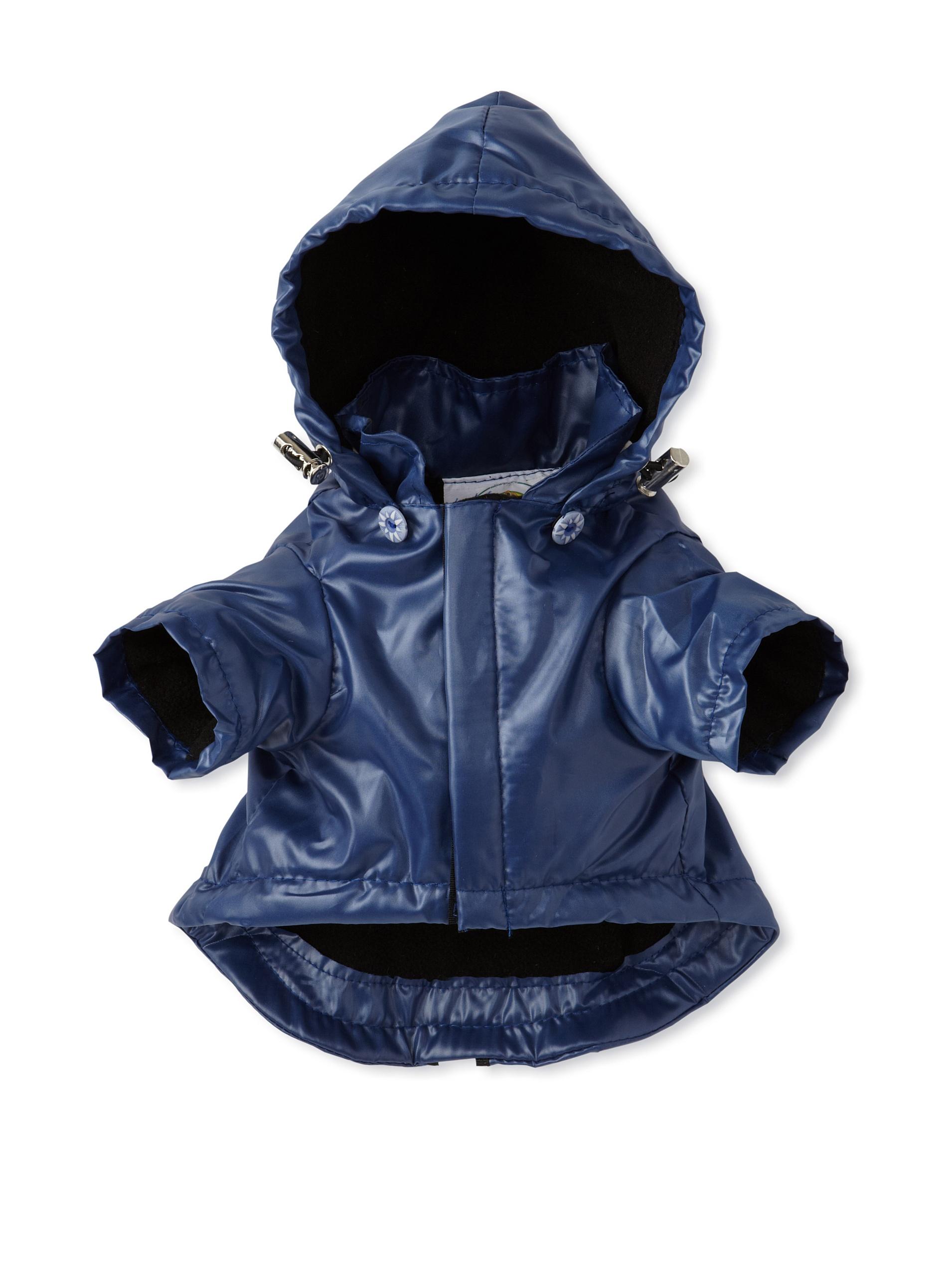 Pet Life Reflecta-Sport Rain Jacket and Windbreaker (Dark Blue)