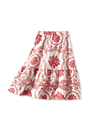 Amoretti Girl's Dutch Beauty Skirt (Ruby Scroll)