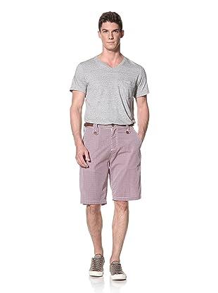 Marshall Artist Men's Tailored Short (Red Check)