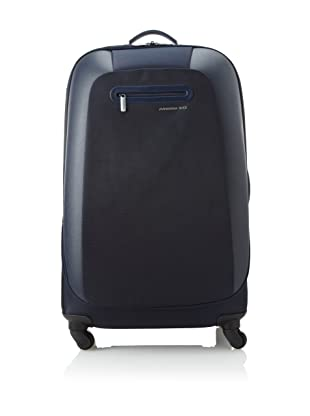 Mandarina Duck Large Scratch Resistant Trolley with Aluminum Handle (Navy)