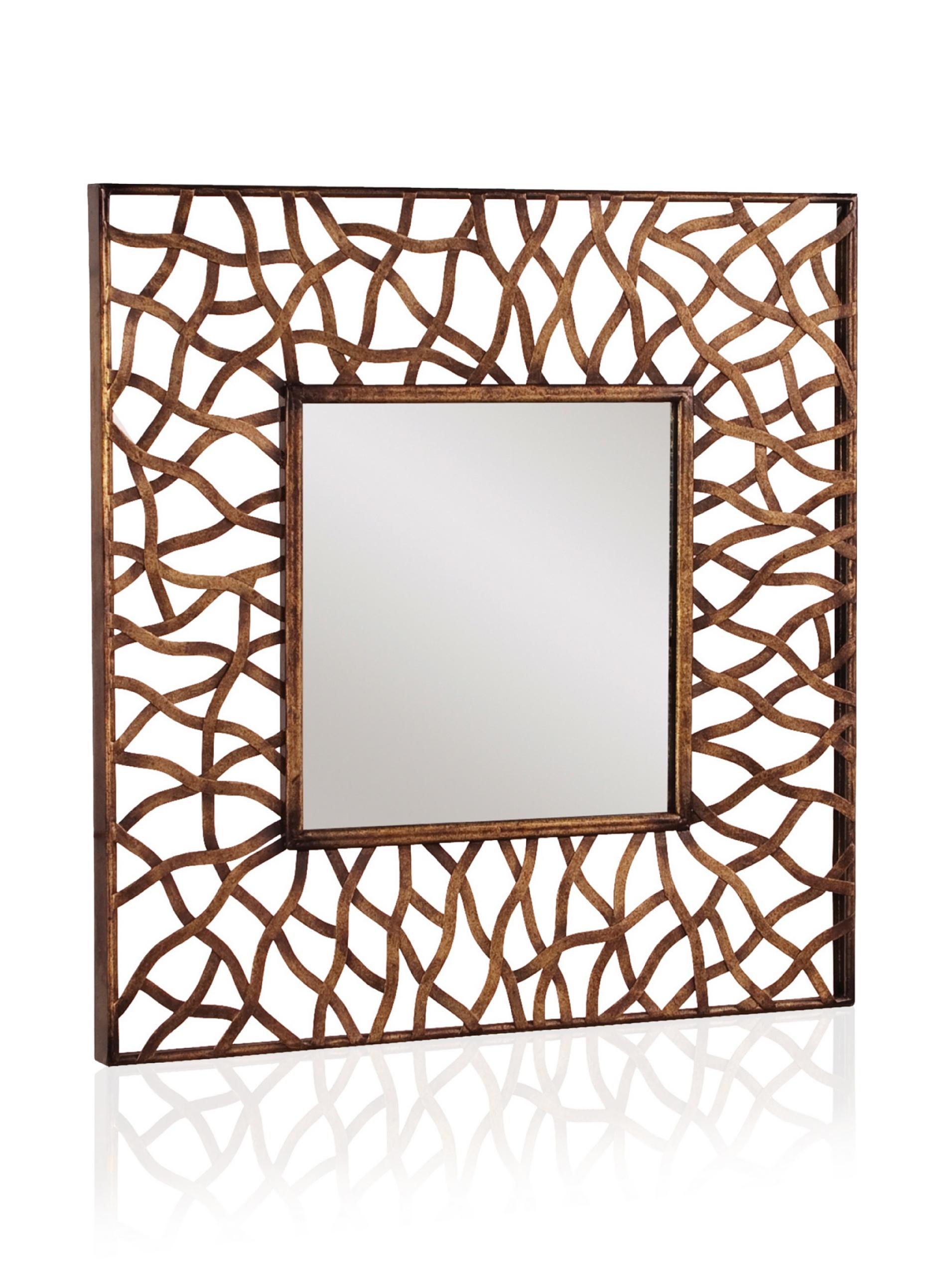 Ilene Mirror, Antique Bronze