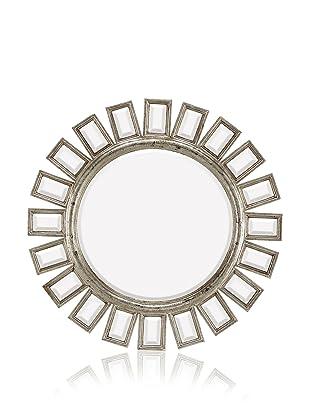 Arcadia Mirror (Antique Silver/Black)