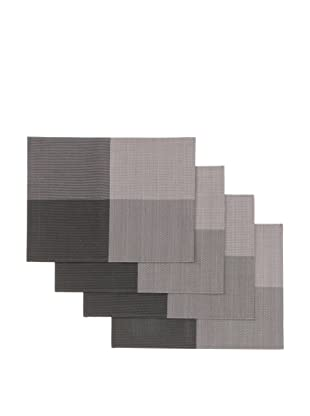 Winkler Set of 4 Square Placemats (Grey)