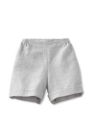 Je suis en CP! Boy's Shorts (Grey Stripes)