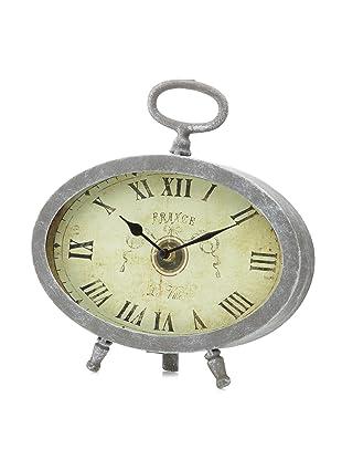 A&B Home Oval Roman Numeral Clock