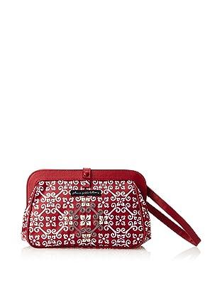 Petunia Pickle Bottom Women's Cross Town Clutch Diaper Bag (Travel Through Tivoli)