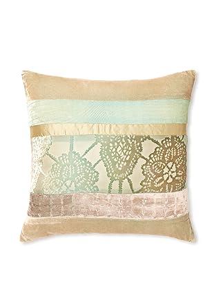 Kevin O'Brien Studio Patchwork Velvet Pillow, Antique, 16