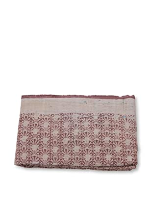 Mili Designs NYC One of a Kind Vintage Kantha Throw, #282