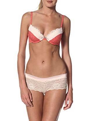 Blush Women's Girlie Show Push-Up Bra (Red Pout)