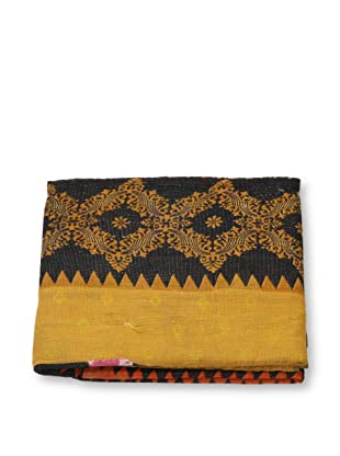 Mili Designs NYC One of a Kind Vintage Kantha Throw, #289
