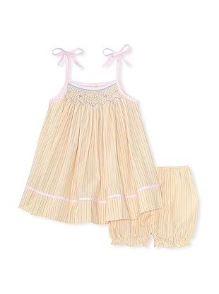 Bebe Mignon Baby Stripe Sundress (Yellow)