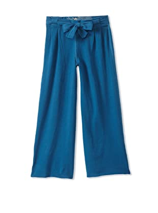 Soft Clothing Kid's Jesse Wide Leg Pant (Windmill Blue)