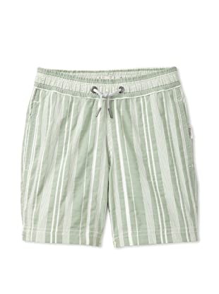 Onia Boy's Charlie Trunks (Green Stripe)
