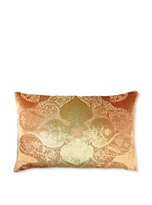 Kevin O'Brien Studio Persian Velvet Pillow, Burnt Sage, 12