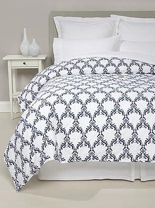 Jaipur Bedding Floral Jaali Quilt (Indigo)