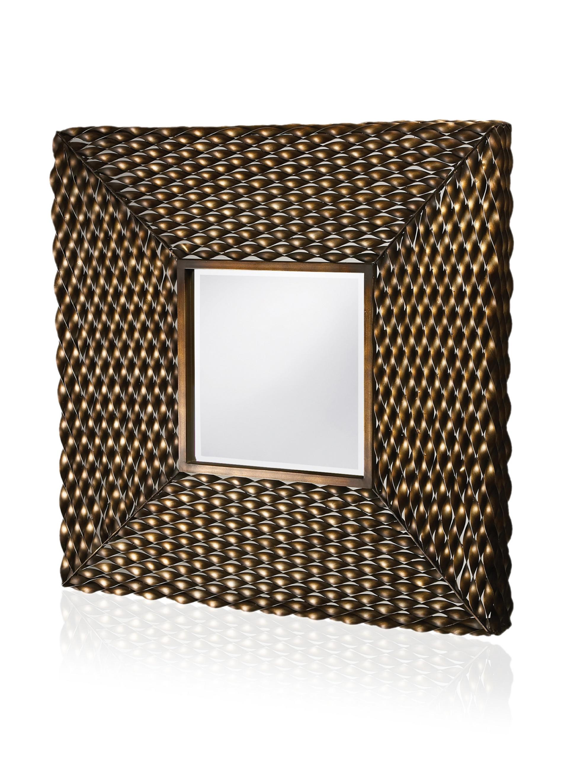 Walter Mirror, Antique Bronze