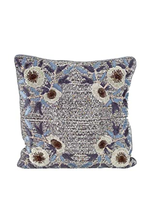 John-Richard Collection Floral Appliqué Pillow, 20