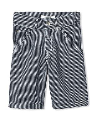 TroiZenfants Boy's Striped Pants (Blue)
