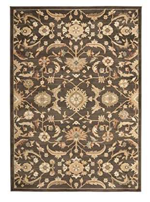 Safavieh Heirloom Rug Collection (Brown/Gold)