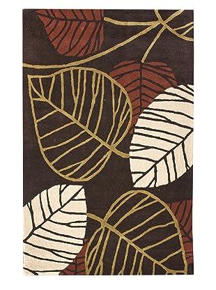 nuLOOM Fall Leaves (Brown)