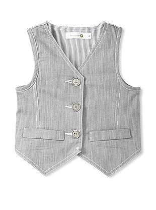 TroiZenfants Boy's Vest (Grey)