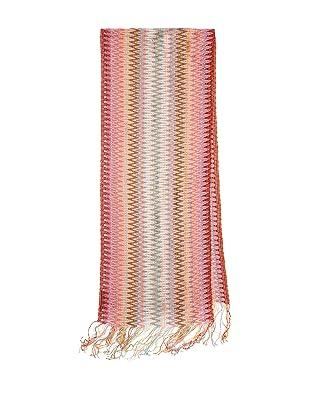 Missoni Women's Multi Zigzag Scarf, Pink