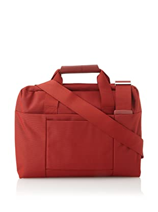Mandarina Duck Briefcase with Exterior Pocket (Fuoco)