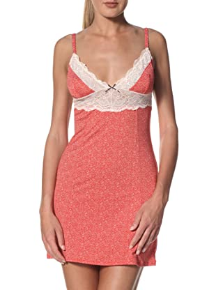 Blush Women's Girlie Show Chemise (Red Pout)