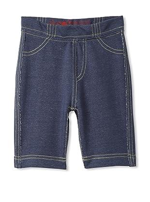 Soft Clothing Kid's Georgie Jean Short (Denim)