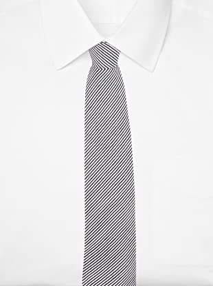 E.Tautz Men's Lindsay Tie (Blue/White)