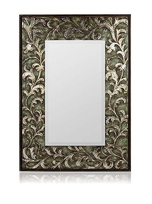 Cooper Classics Copland Oversized Mirror, Green/Silver