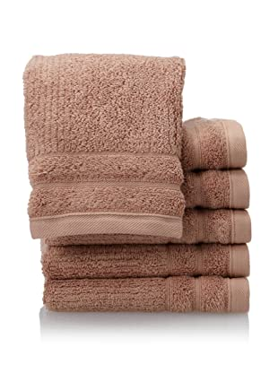 Peacock Alley Hudson 6-Piece Hand Towel Set (Shell)