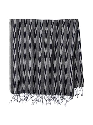 French Connection Men's Shelby Knot Scarf (Darkest Blue)