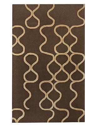 nuLOOM Modern Trellis (Brown)