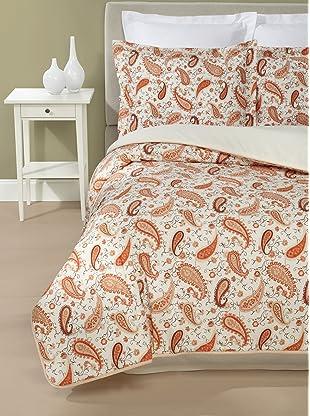Belle Epoque Valencia Paisley Comforter Set (Multi)