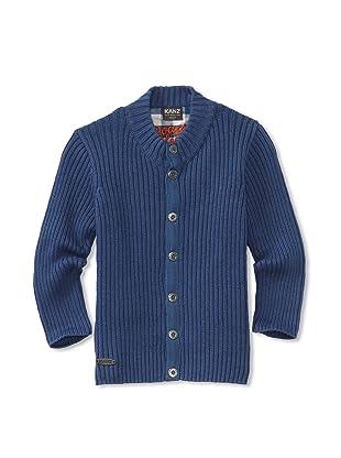 KANZ Boy's Ribbed Sweater (Blue)