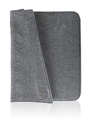 +Beryll Raw Men's iPad Sleeve, Denim