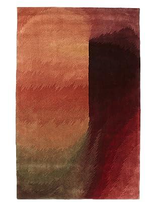 Oriental Weavers Warhol Factory Rug (Maroon/Olive/Tan Multi)