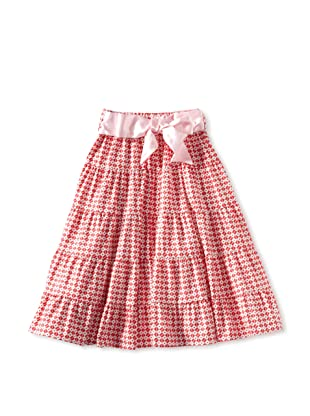 Amoretti Girl's Gypsy Queen Skirt (raspberry red)