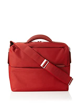 Mandarina Duck Briefcase with Removable Laptop Bag (Fuoco)