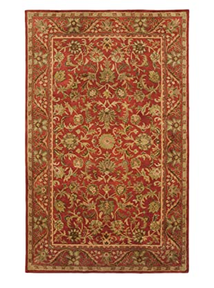 Safavieh Antiquities Collection Hand Tufted Wool Rug (Red/Red)