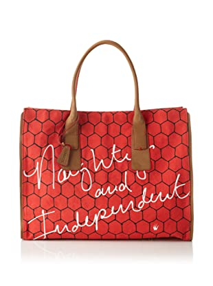 Loquita Women's Honeycomb East/West Tote (Red)
