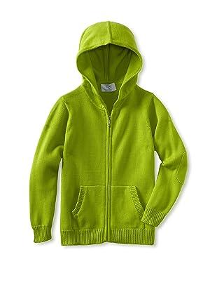 Baby CZ Boy's Zip Hoodie (Lime)