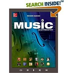ISBN:0078025206 Music by Roger    Kamien Music: An Appreciation