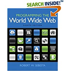 ISBN:0133775984 Programming the World Wide Web (8th Edition) by Robert 
