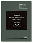 Modern Constitutional Law, Cases and Notes, 10th