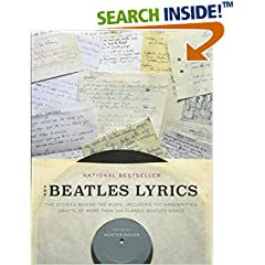 ISBN:0316247170 The Beatles Lyrics by Hunter 