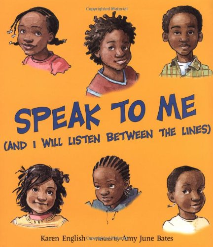 Speak To Me (And I Will LIsten Between The Lines)