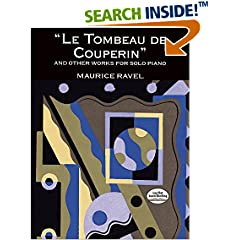 ISBN:048629806X Le Tombeau de Couperin  and Other Works for Solo Piano by Maurice    Ravel and Classical Piano    Sheet Music