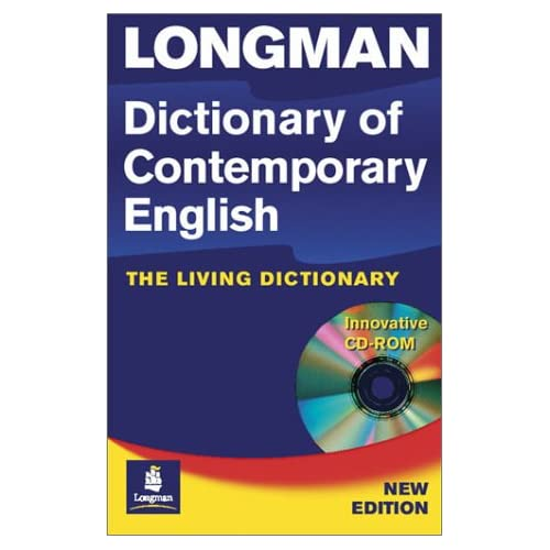Longman dictionary of contemporary english 4th edition echos